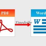 How to Convert PDF to Editable World – PDF to World Docs