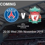 Latest Liverpool News: How Liverpool Will Line-up Against PSG on Champions League