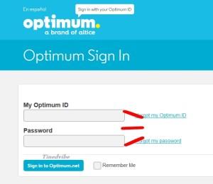Optimum Email login www.optimum.net