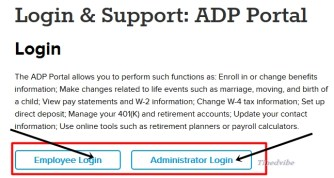 my adp login