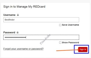 Target Credit Card Login