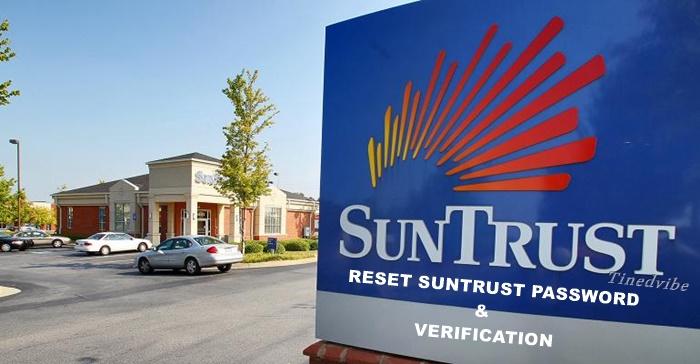 Suntrust.com Banking Reset Password Verification – Review