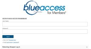 Blue Cross Blue Shield Member Login