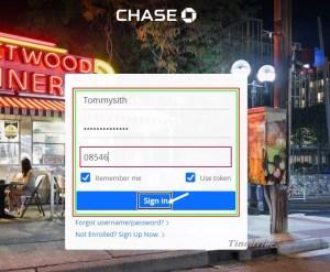 Chase Bank Online Login