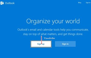 Sign Up to Outlook Email Outlook.com