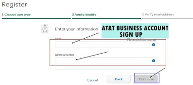 Att Business sign up