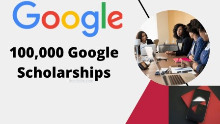 Google Scholarships Online Certificates