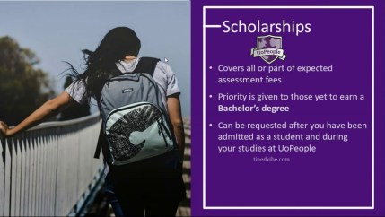 UoPeople Scholarships 2021