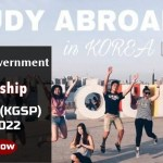 Study in Korea: Government Scholarship 2021-2022 for International Students