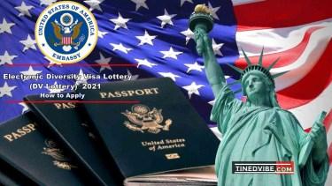 American Visa lottery 2021