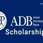 Asian Development Bank-Japan Scholarship Program 2022/2023