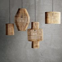 Large decorative rattan lampshade | Products | Tine K Home