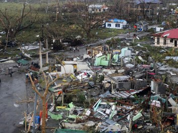Tacloban, Leyte was one of the hardest-hit areas during the wrath of Typhoon Yolanda. Photo from Inquirer.net/AFP