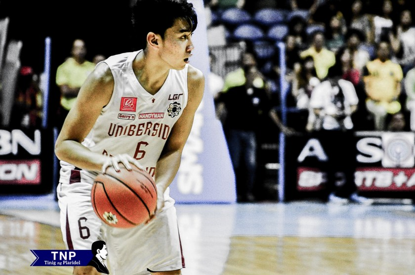 Jett Manuel scored 16 points in this game but was not enough to lift his team past FEU, 58-75.