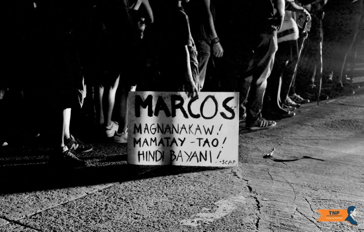 Thousands rise against Marcos secret burial