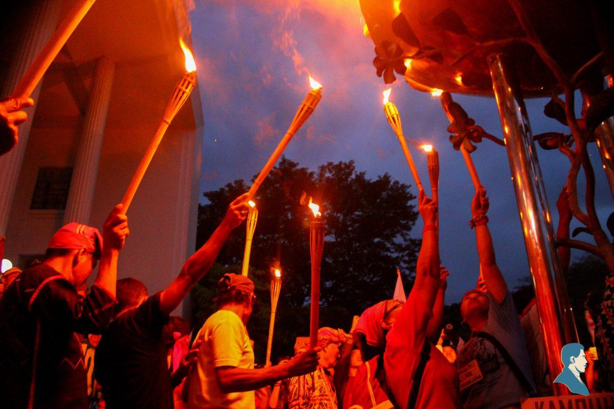 Alab ng panawagan: Ang pagsalubong ng UP sa Lakbayan ng Pambansang Minorya 2017