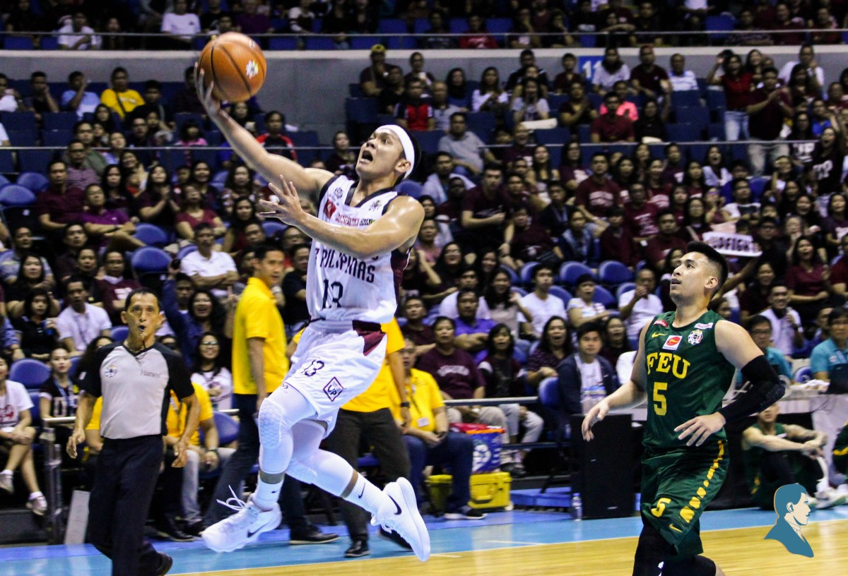 UP receives wake up call, blowout from FEU