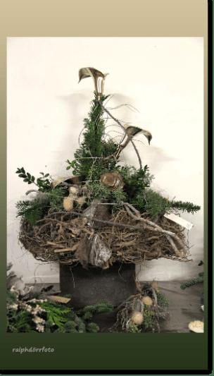 Grabgestecke  Tinis Blumenladen  Rennerod Westerwald