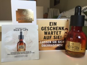 Testpaket Bodyshop Oils of Life