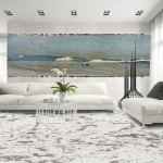 Wall Azul Macauba Floor Royal White Granite Tinka Marmo