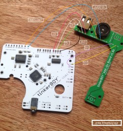 wiring the tinkerboy add on board for the tinkerboy controller v3  [ 1936 x 1936 Pixel ]