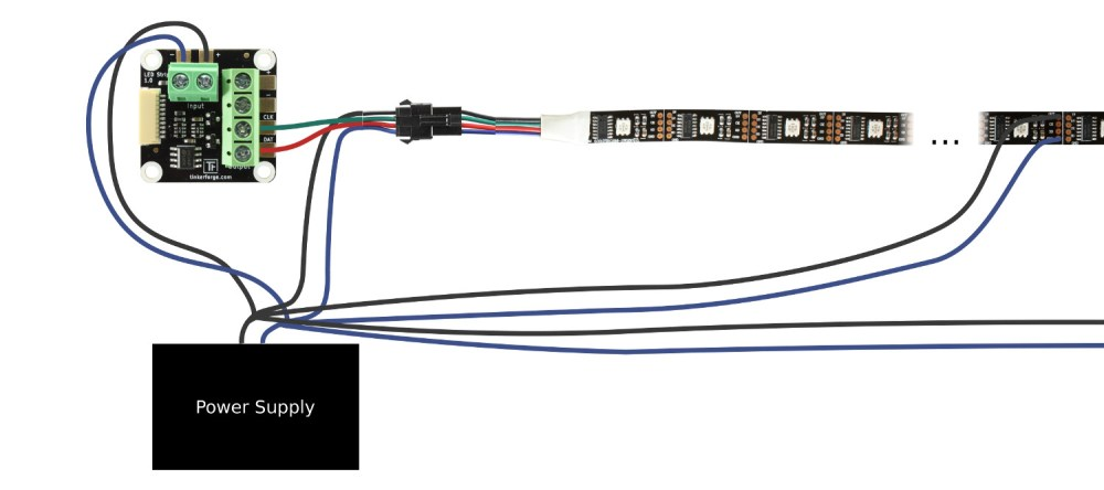 medium resolution of led strip bricklet wiring for ws2801 led strip