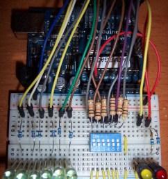 led control using dip switch [ 1682 x 2156 Pixel ]