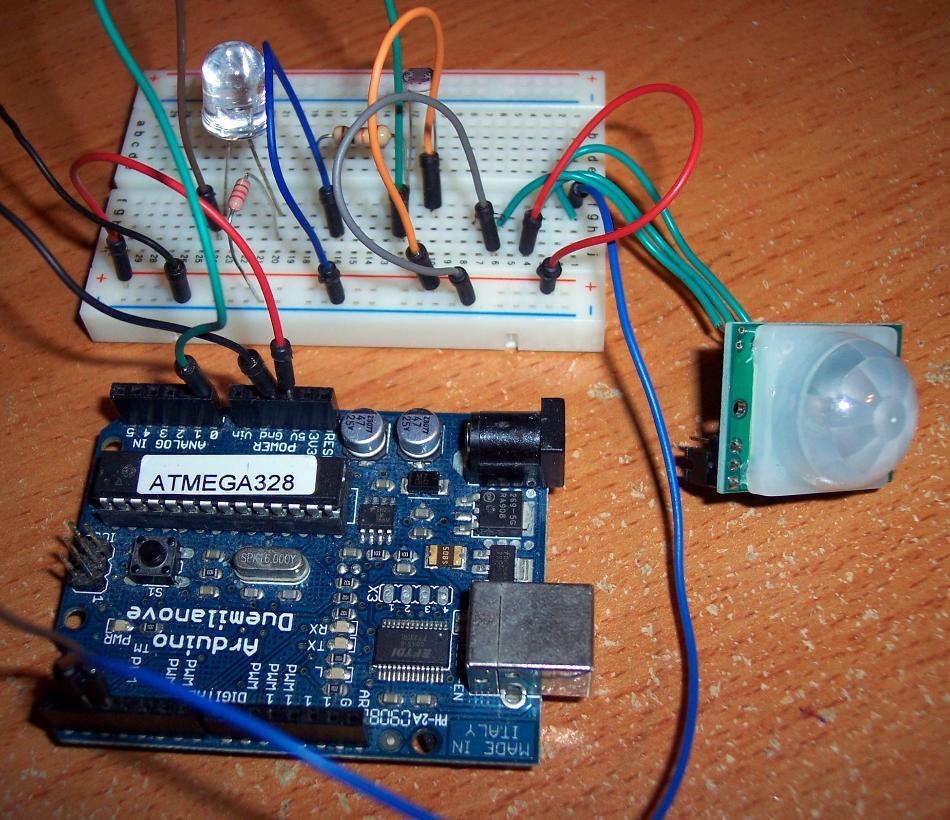 pir sensor wiring diagram refraction ks3 motion and light sensors with arduino circuit