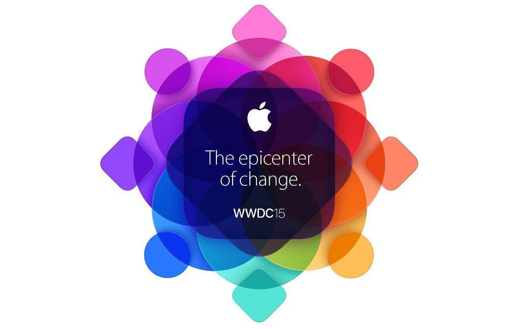 La imagen del WWDC, el evento de Apple, en 2015