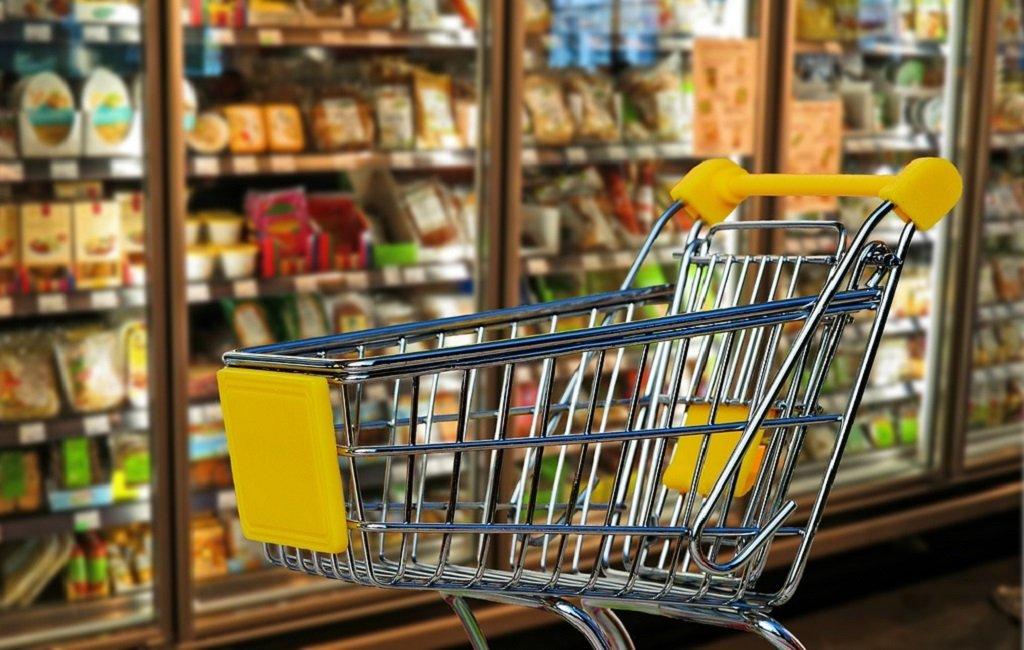 Carrito de un supermercado