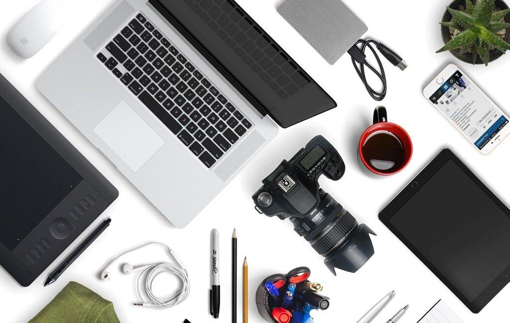 Diversos gadgets de tecnología