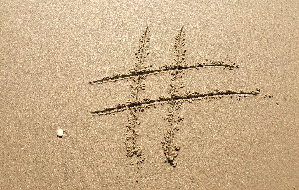 Símbolo del hashtag: la almohadilla