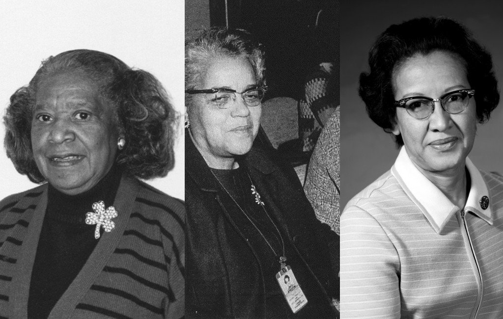Mary Jackson, Dorothy Vaughan y Katherine Johnson
