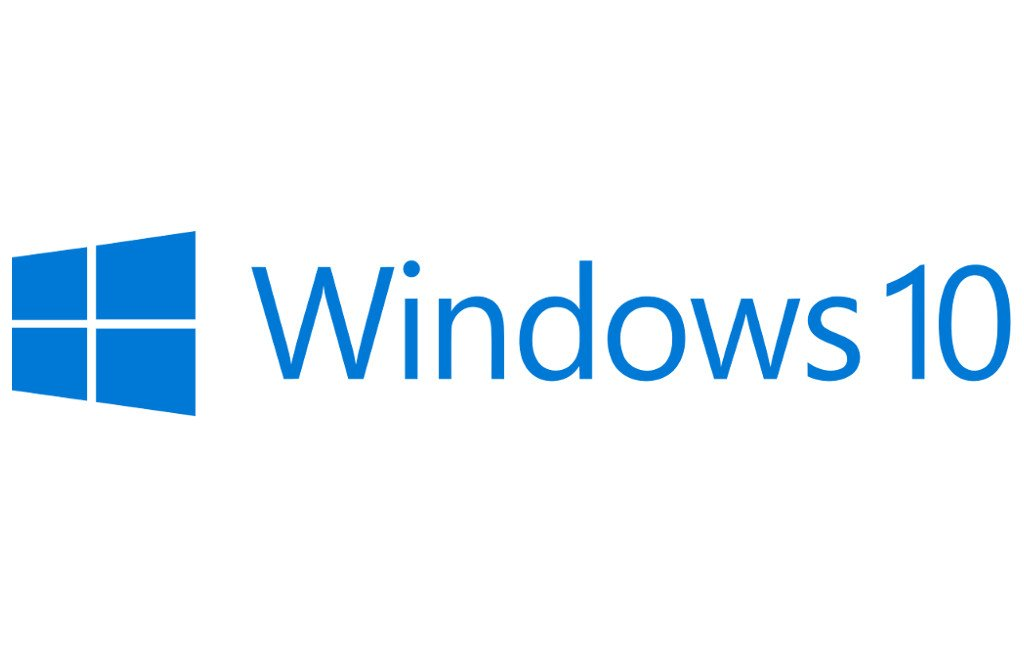 El logo de Windows 10