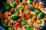 Kuracie teriyaki s brokolicou