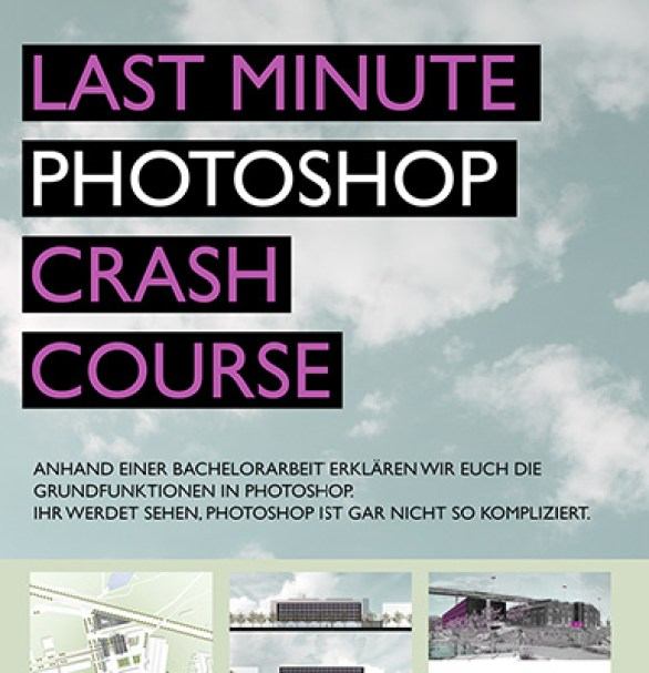 Last Minute Photoshop Crash Course