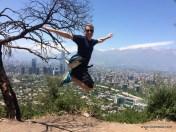 Mein erstes Sprungfoto in Chile bisher