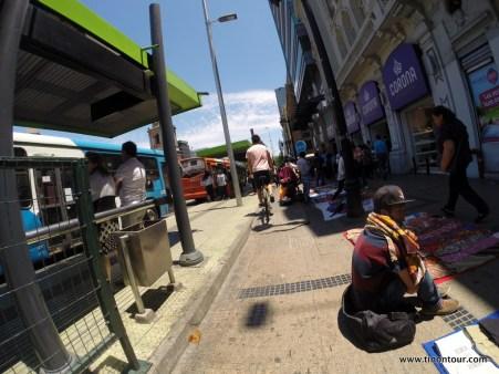 Mit dem Rad durch die Stadt