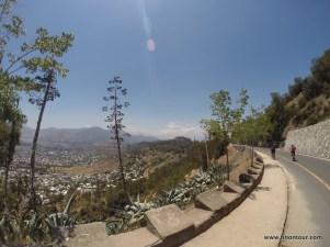 auf geht's - Cerro San Cristobal