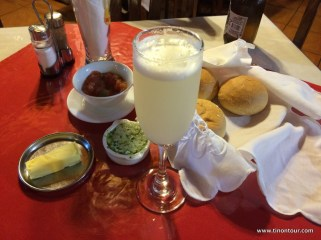 Pisco Sour gibt es überall in Chile - sehr lecker