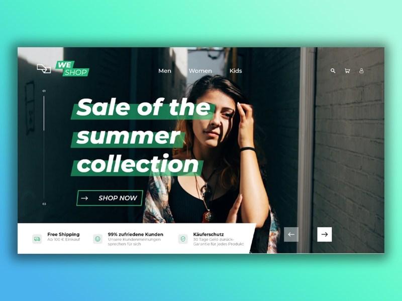 Header Image Weshop Webdesign Onlineshop