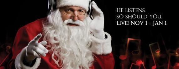 Santa Claus headphones