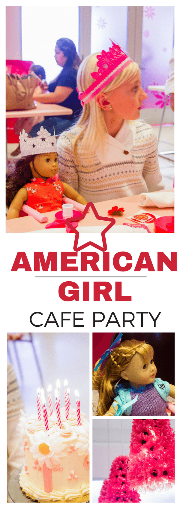 American Girl Cafe Birthday Party  TINSELBOX