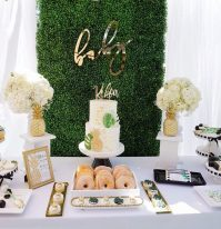 Darling Tropical Baby Shower Party Ideas - TINSELBOX