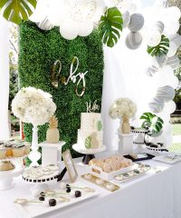 elegant-tropical-1st-birthday-party-4 - TINSELBOX