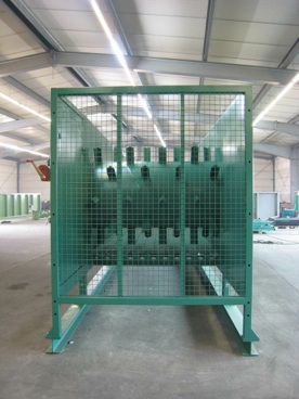 Metering Bin  Storage System for Recycling Centers