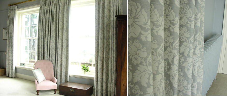 full length bedroom curtains