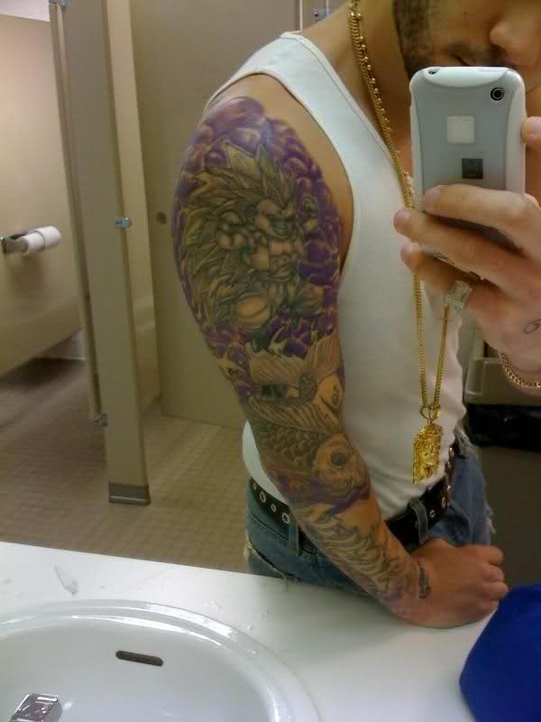 44 tatuagens de Dragon Ball (2)