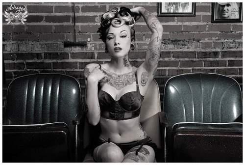 Fotos de Pin-Ups tatuadas (49)