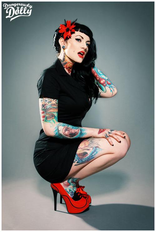 Fotos de Pin-Ups tatuadas (34)